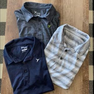 Old navy lot of boys active wear polos